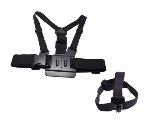 Chest & Head Harness for Gopro Hero 4/3+/3/2/1